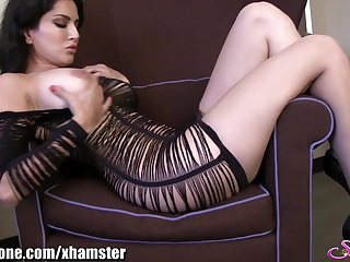 SunnyLeone Sunny Leone in a gorgeous strip tease
