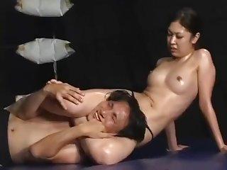 Asian muscle wrestling