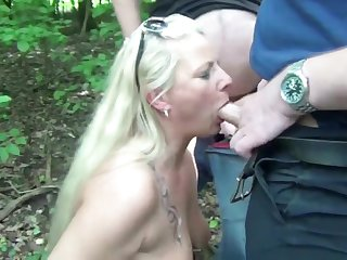 Public rest field Slut! Part 1