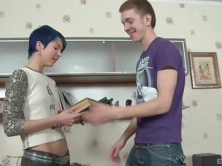 standing doggy style after amazing blowjob is Amy Frost's wish