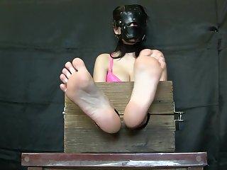 blindfold bastinado