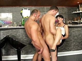 Finest superstar Victoria Rose in super-sexy brown-haired, bisexous hard-core flick
