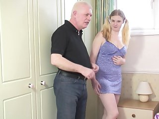 Kirmess chick Mona B gets talked into sucking and riding a dick