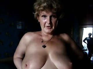 Sandra 60 BBW Granny with renowned Boobs