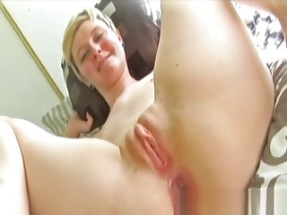 Debutante creampied wide tight-fisted butthole