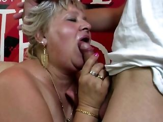 Yon granny and grown-up mother attempt youthful peckers free porn