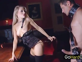 A Femdom Session With Michelle Moist