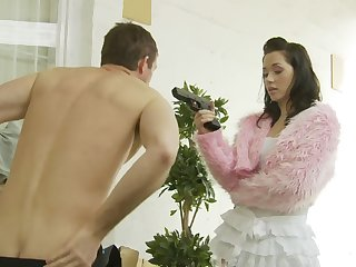 For Kaia Kane slay rub elbows with best way to finish her day is hard sex and a facial