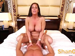 Pleasing Latina Mommy Young gentleman - mature