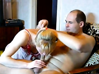 Married Russian homemade couple fucking