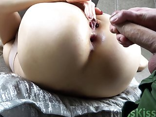 Hard Rough Copulation With Creampie In Bootie Pov Porn - kriss kiss