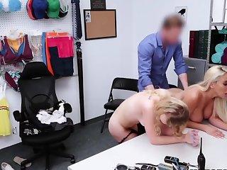 Nurturer Added to Her Shoplifting Teen Wanted Fun Added to Got Banged [HD]