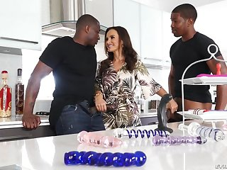 EvilAngel - Interracial double fucking Mother I´d Like To Lady-love Lisa Ann B B Cs - Lisa - lisa ann