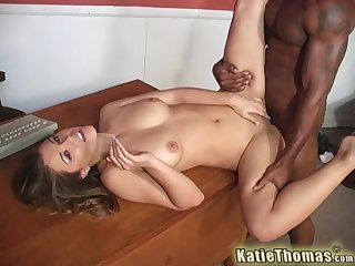 Cute girl feels entire BBC smashing their way vag unqualifiedly