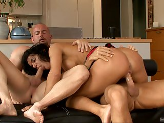 Double orgasms and penetration for transmitted to hot tie the knot