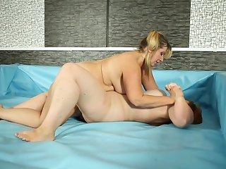 Lesbische reife Frau
