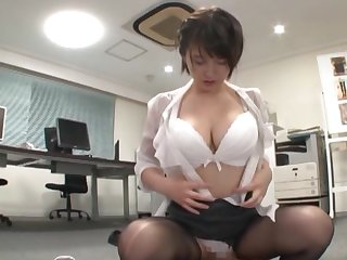 Endless appreciation be useful to a clothed Japanese while at the office