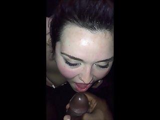 Raunchy harlot incredible interracial sex