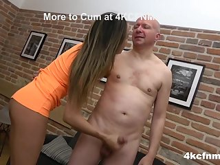 CFNM - Spit more than it and Rub it Harder