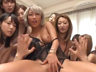 Wild homemade orgy on every side one lucky dude and lot for Japanese girls