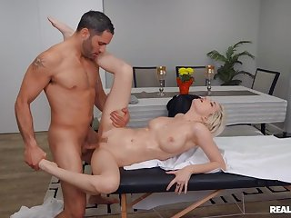 Sperm clamour porn video featuring Skye X and Damon Dice