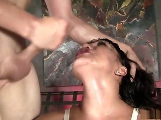 Awesome pornographic personality Ava Devine up finest japanese, fishnet adult pinch